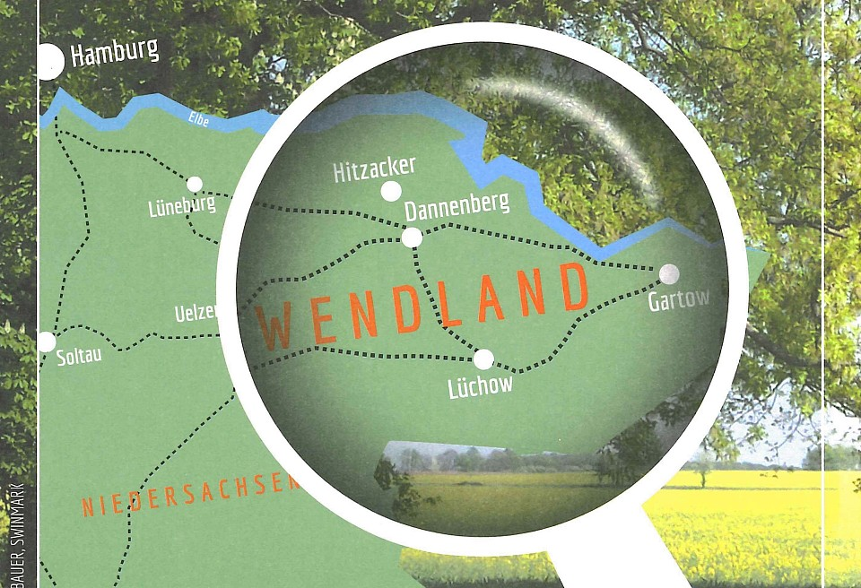 Kulturelle Landpartie Karte.Fur Einwohner Und Gaste Neue Topographische Karte Wendland